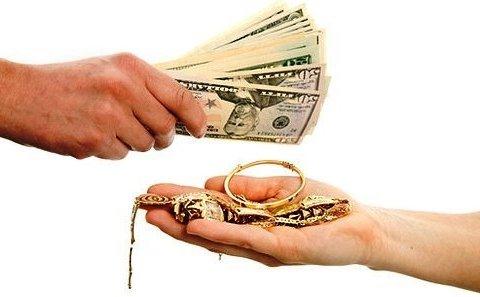 »Укрспецторг» принял у ломбардов драгоценные металлы, а деньги не заплатил