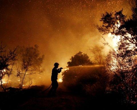 Украинцев предупредили о высокой пожарной опасности