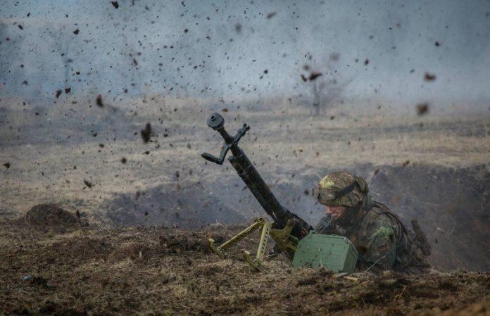 38 обстрілів, без втрат— Доба АТО