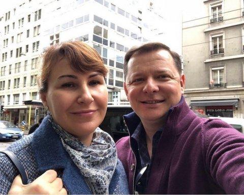 Олег Ляшко оформив шлюб із цивільною дружиною Росітою Сайранен (фото)