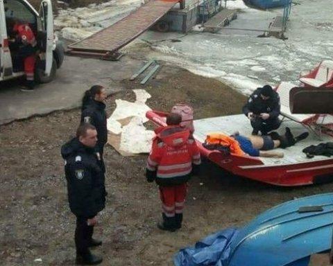 У Києві невідомий чоловік стрибнув з мосту