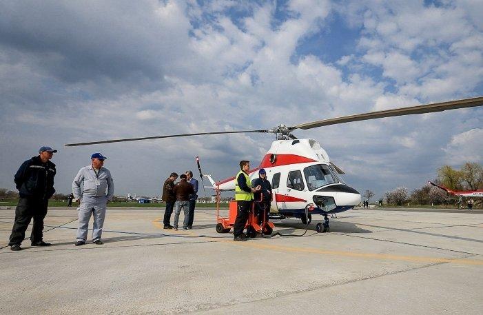 Конструкторы похвастались первым украинским вертолетом