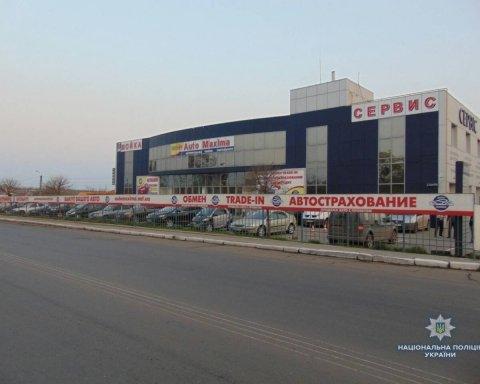 В Николаеве на АЗС произошел взрыв (фото)