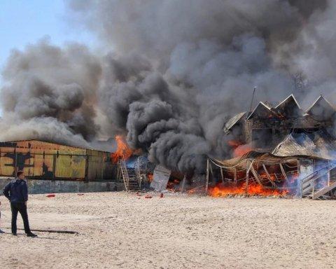 Жуткий пожар в Одессе: появились новые подробности