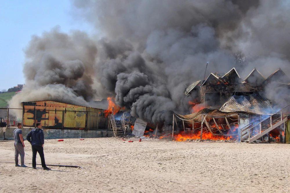 Моторошна пожежа в Одесі: з'явилися нові подробиці