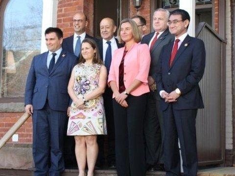 Миротворцы на Донбассе: G7 поддержали украинский вариант миссии