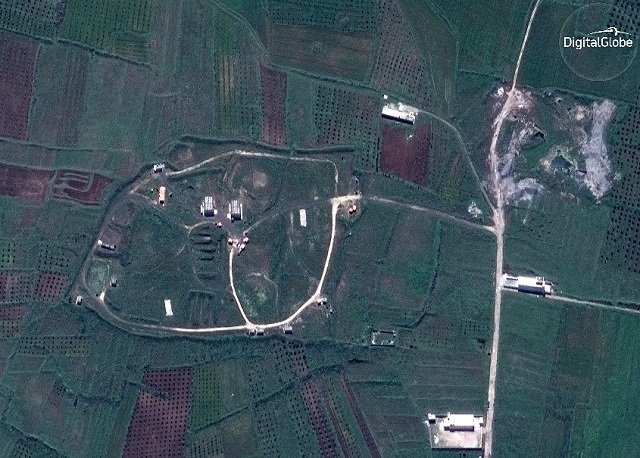 Ракетні удари поСирії: з'явилися фото до і після бомбардувань