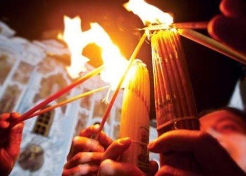 Благодатний вогонь вже в Україні