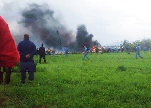 В Алжирі розбився військовий літак: кількість жертв може досягти 200 осіб