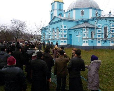 Священники Московского патриархата отказались отпевать бойца АТО