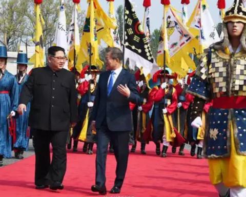 Историческое событие: начались переговоры президентов Северной и Южной Корей
