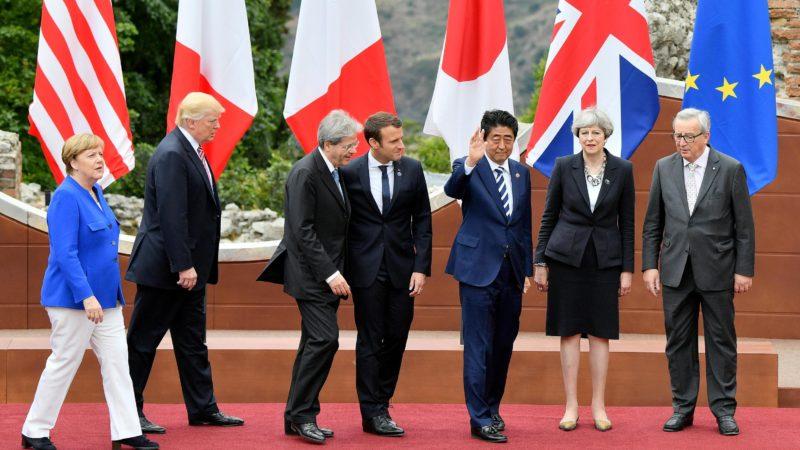 Лідери G7 одностайно підтримали бомбардування Сирії