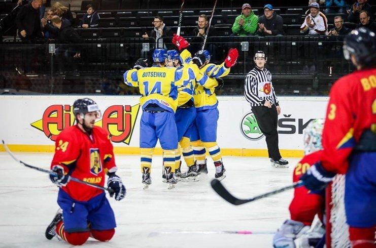 Українські хокеїсти здобули перемогу в першому матчі на ЧС-2018