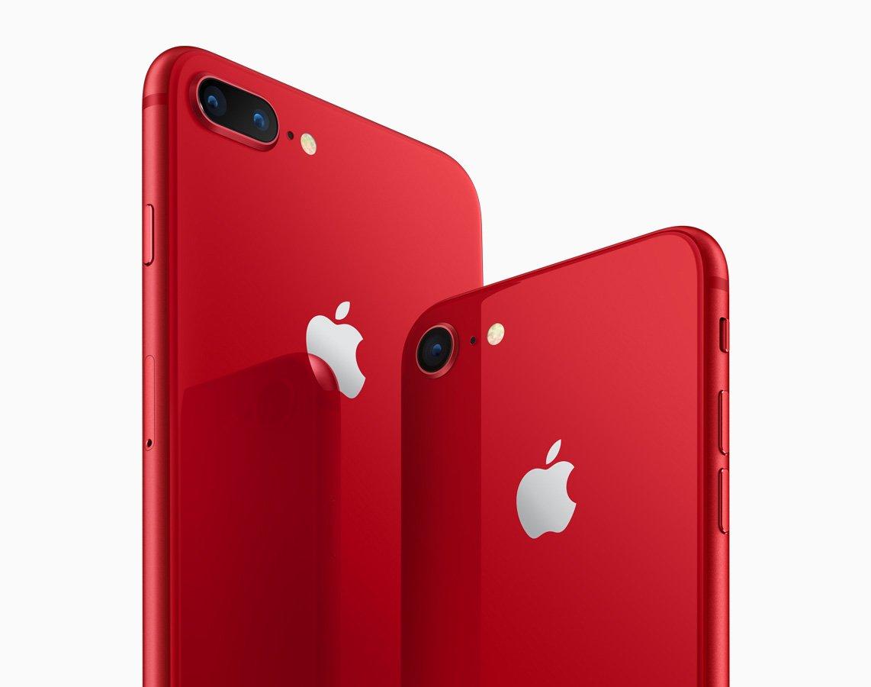 Компания «Apple» выпустила новый iPhone красного цвета