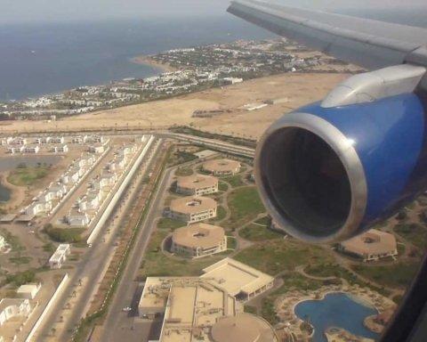 """За туристами, які """"застрягли"""" у Єгипті, пришлють літак"""