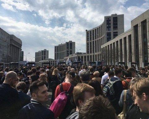 Росію охопили масштабні протести проти заборони Telegram