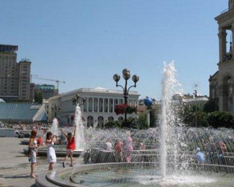 Анонсировали запуск фонтанов на майдане Независимости