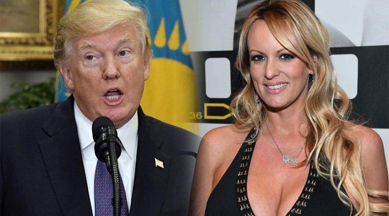 Дональд Трамп и порноактриса Сторми Дэниэлс