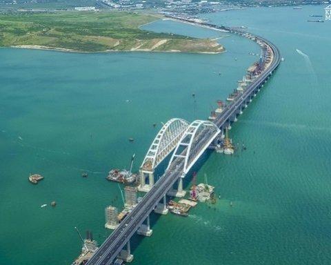 В РФ устроили истерику из-за уничтожения Керченского моста (видео)