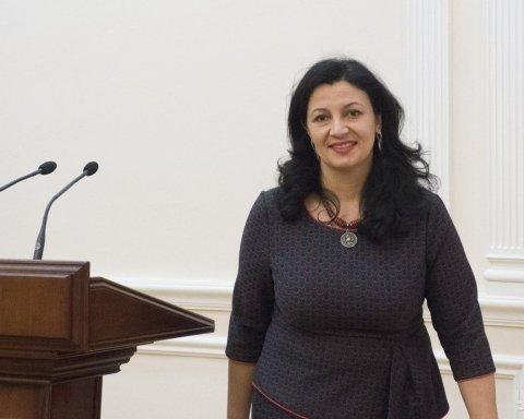 Політикани в Раді гальмують голосування по антикорупційному суду – віце-прем'єрка