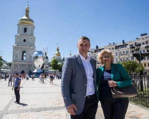 Кличко запропонував зробити Київ і Мадрид містами-побратимами