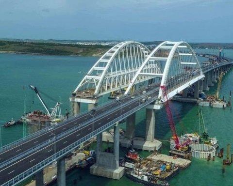 «Це нас здивувало»: у Криму дякують мосту за «порятунок»