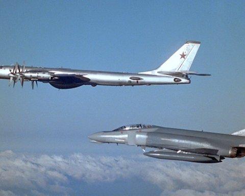 Російські бомбардувальники вторгнулися в ідентифікаційну зону поблизу США