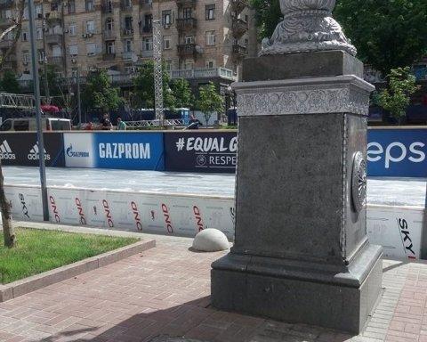 Финал Лиги Чемпионов: Газпром «внезапно» исчез из Киева