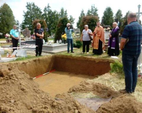 Дело памятника. Археологи нашли останки воинов УПА в Польше (фото)