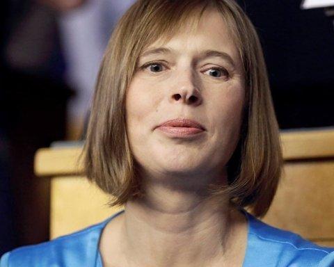 Президент Эстонии собралась на Донбасс: названа дата