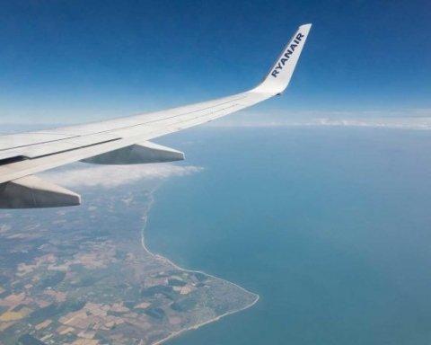 Ryanair ведет переговоры с еще пятью украинскими аэропортами