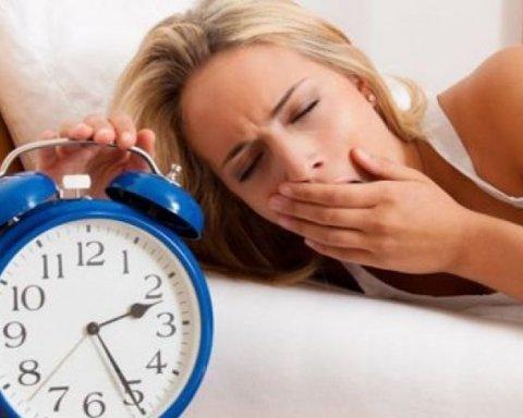 Дефіцит сну негативно впливає на здоров'я