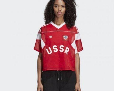 Adidas попал в скандал через форму с гербом «СССР»