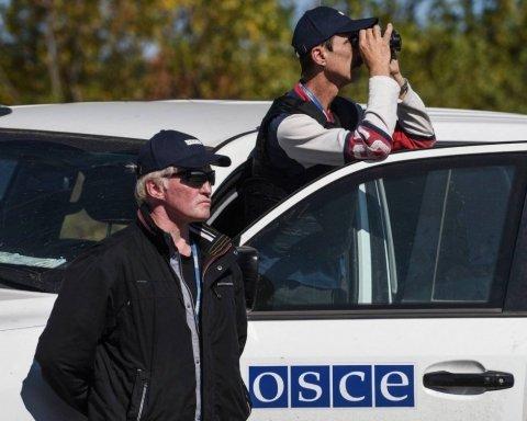 Детонация мин на Донбассе: ОБСЕ показала масштабные пожары