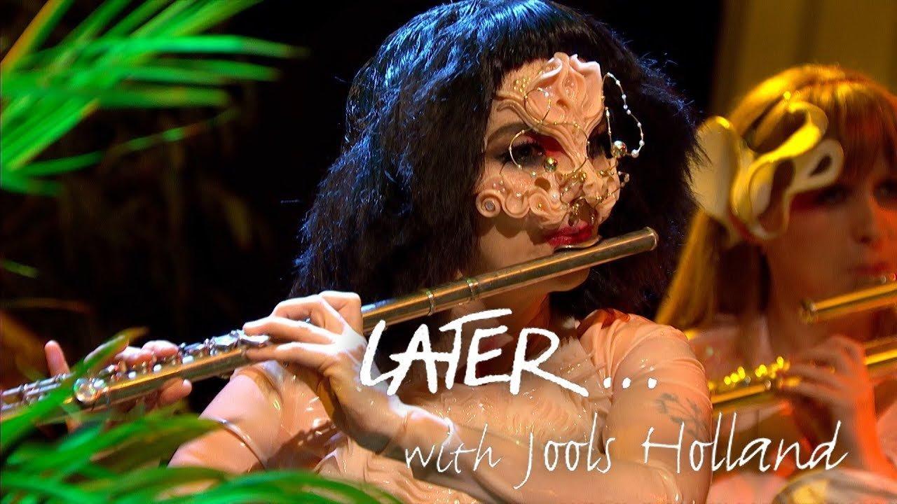 Картинки по запросу бьорк  «Later... with Jools Holland»