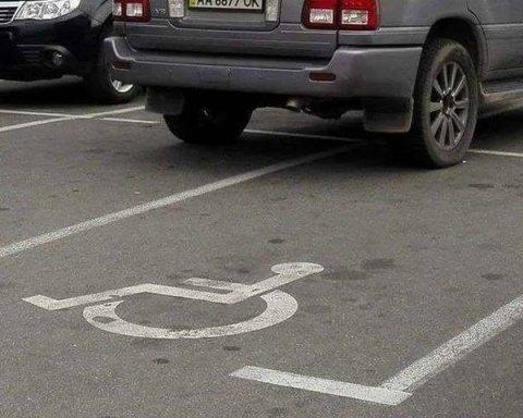 Нахаба: черговий герой паркування зайняв місця для водіїв з інвалідністю