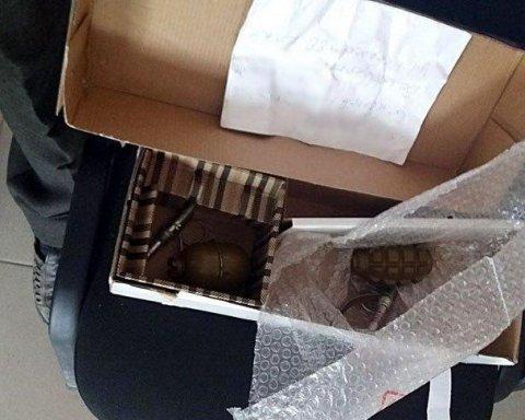 Мешканець Донбасу відправляв поштою на Київщину бойові гранати