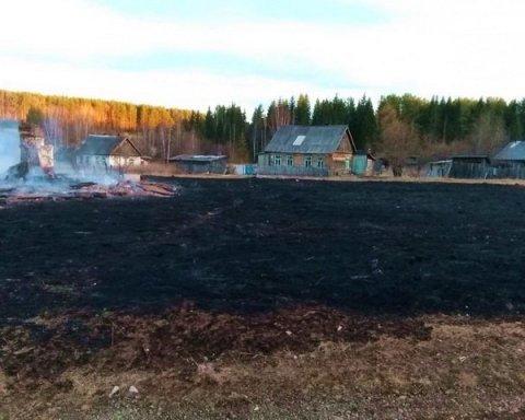 Горе-росіянин спалив сміття та 13 будинків