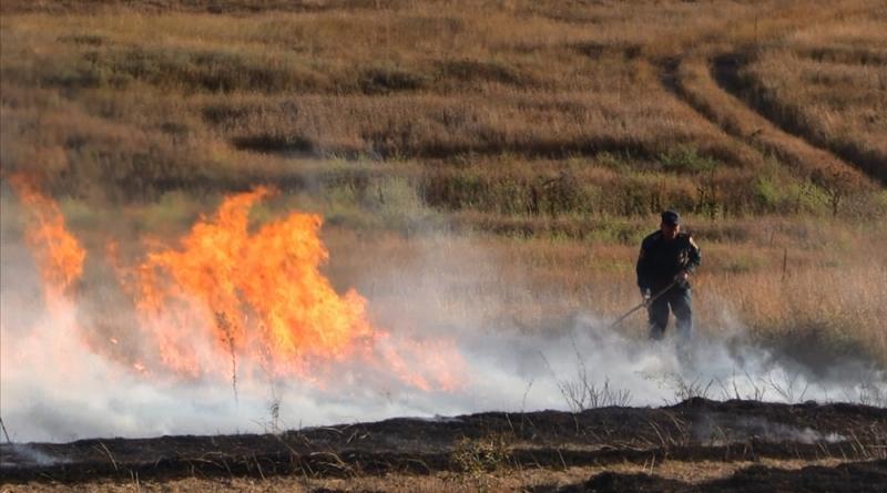 Украинцев предупредили об опасности масштабных пожаров