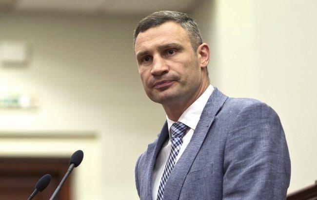Кличко зробив заяву щодо доріг Києва