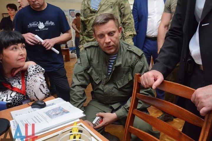 Выходка боевика Захарченко насмешила соцсети (фото)