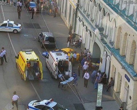 П'яний таксист влетів у натовп іноземних фанатів у Москві і намагався втекти