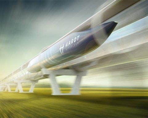 Чекати вже недовго: названо дату запуску Hyperloop в Україні