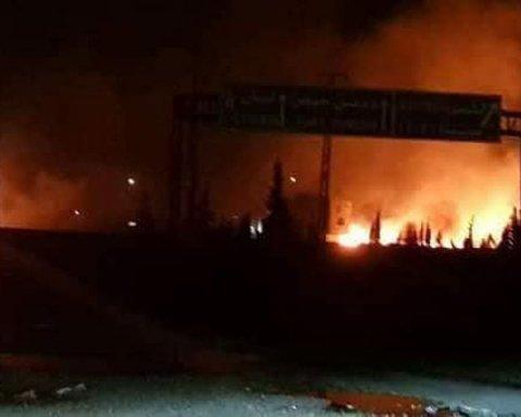 Израиль накрыл ракетным огнем российских «ихтамнетов» под Дамаском