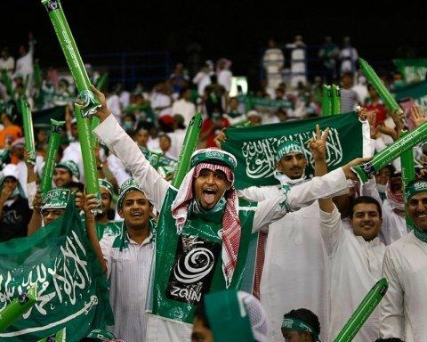 """У РФ вболівальників Саудівської Аравії """"розвели"""" на 15 мільйонів"""