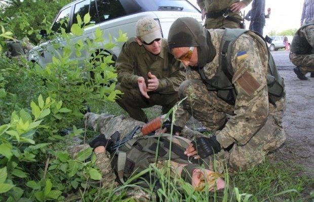 Как готовят парамедиков для украинской армии