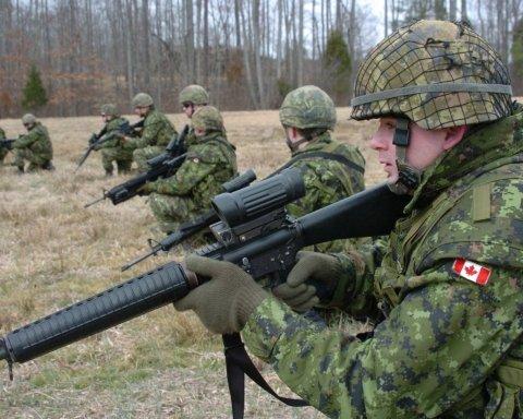 Канада может передать Украине летального оружия на 10 миллионов долларов