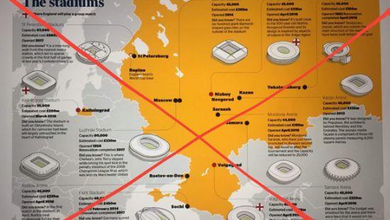 Посольство Украины: Британская The Times напечатала карту Российской Федерации  сКрымом