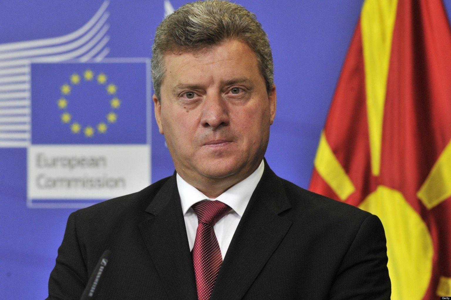 Президент Македонии отказывается переименовывать страну