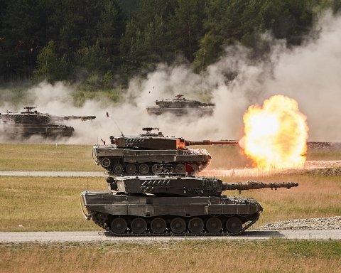 На танковом соревновании стран НАТО Украина заняла восьмое место